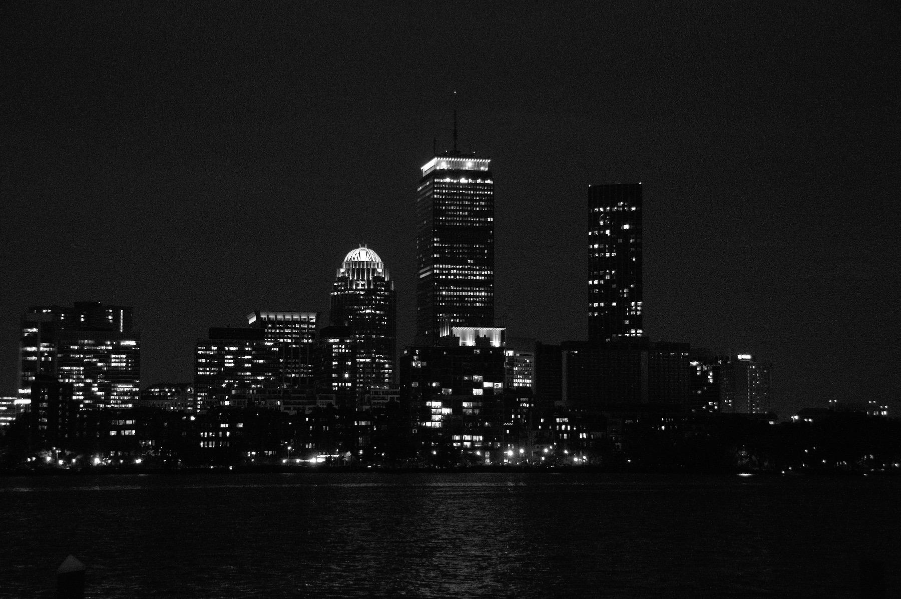 Boston Night Skyline feature image